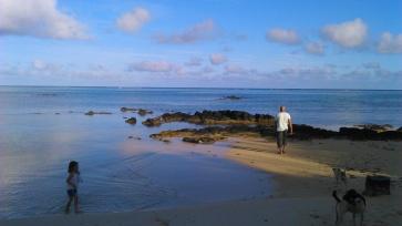 8nov (8)-Lever du jour sur la plage de Bain Boeuf