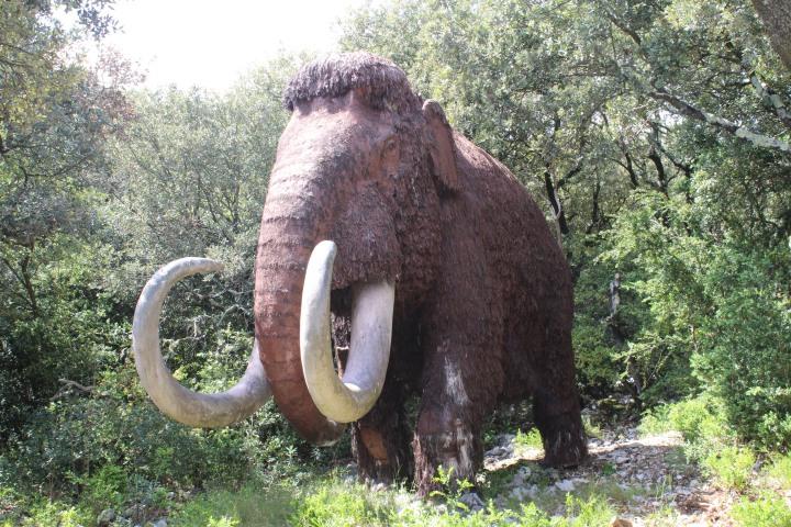 0 28avril - Zoo préhistorique - Aven Marzal (74)