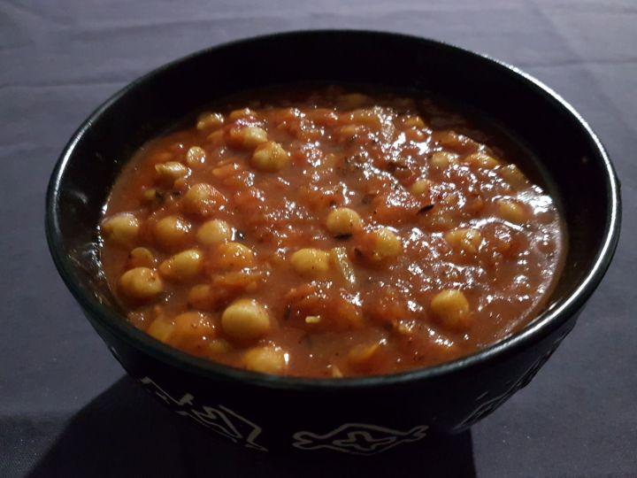 Curry de pois chiches (Inde /Pakistan)